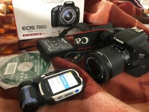 EOS 700 D  CANON digital camera