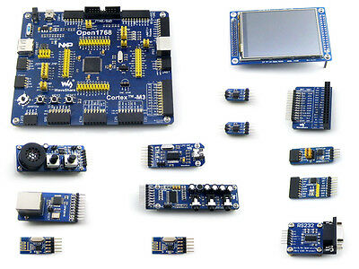 Open1768-p-b Nxp Lpc1768 Cortex-m3 Arm Lpc Development Board 12 Module Kits