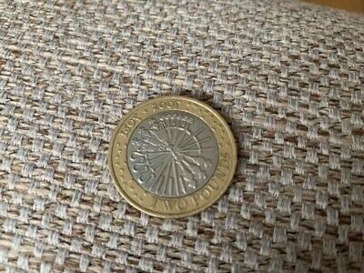2005 Guy Fawkes Gunpowder Plot  £2 Pound Coin
