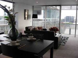 CBD master bedroom, large Luxury-fully furnished apartment Melbourne CBD Melbourne City Preview