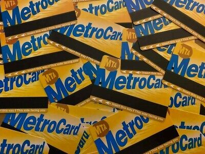 Lot of 50 assorted expired New York NY Metrocards - Used - for Craft / Hobby