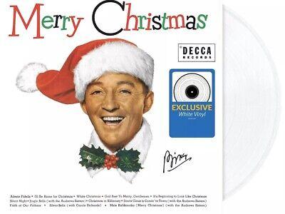 Bing Crosby Merry Christmas Exclusive White LP Vinyl Record NEW ()