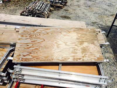 A1 Scaffold Aluminum Plywood 19 X 42 Walkboard Plank Scaffold Board