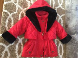 Rothschild girls Winter Coat, size 3T