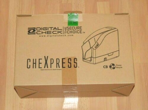 NEW! Digital Check CheXpress  CX30 30KF 152000-02 (Inkjet Version) Check Scanner