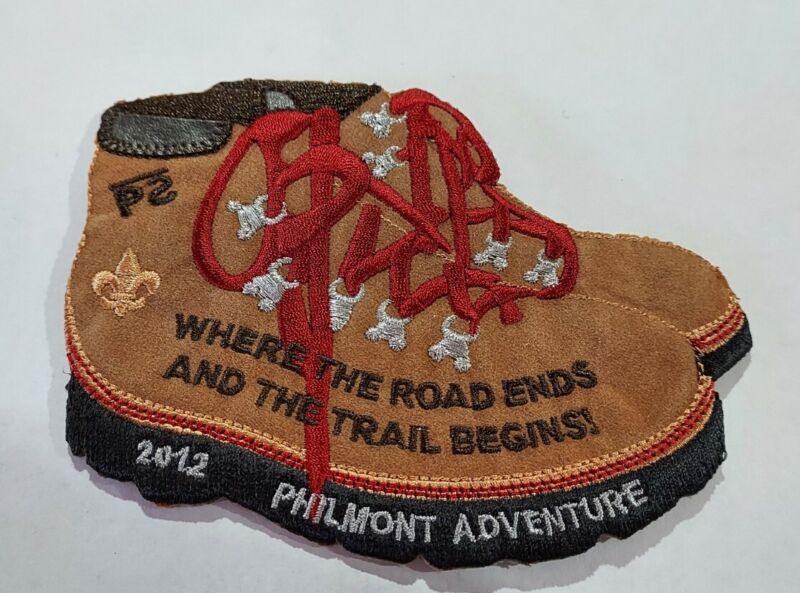 2012 BSA Philmont Scout Ranch High Adventure Patch