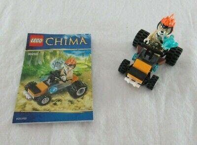 Lego Legends of Chima Leonidas Jungle Dragster Set #30253 2013 100% COMPLETE