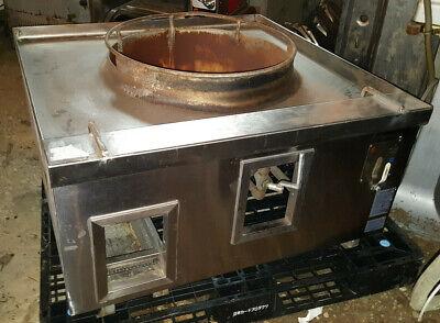 Allstrong Restaurant Countertop Commercial Nat Gas Wok Range Stove 1 Hole Burner