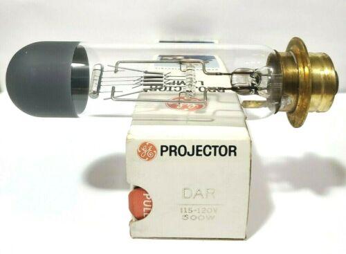 1 Vintage NOS GE DAR 120V  500W  25 Hours Projector Lamp Bulb