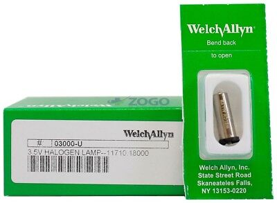 Welch Allyn 03000-u Original 3.5v Halogen Replacement Lamp