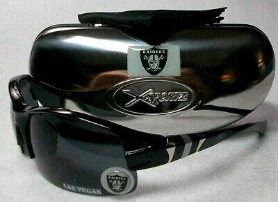 Read Listing! Las Vegas/Oakland Raiders 3D LOGO on BLK Wrap Sunglasses. 3 PC (Sunglasses List)