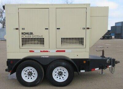 55 Kw Kohler John Deere Diesel Generator Jd Genset - Trailer-mounted - 2007
