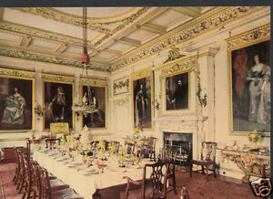 Bedfordshire-Postcard-The-State-Dining-Room-Woburn-Abbey-WC41