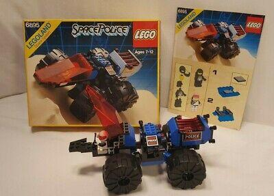 Vintage 1989 Lego Space Police I #6895 Spy-Trak I Set: 100% comp w/box/instrcts