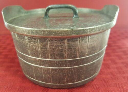 Vintage Gorham Original Keep Sake Covered Barrel Silver EP. Very Old/Collectible