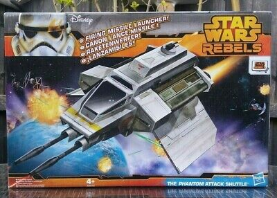 STAR WARS REBELS VEHICLE ~ THE PHANTOM ATTACK SHUTTLE ~ BRAND NEW