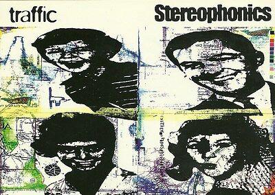 Original 1998 11cm x 15cm Promotional Postcard   STEREOPHONICS   Traffic    MINT