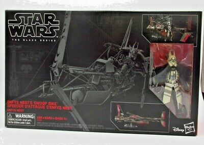STAR WARS: THE BLACK SERIES - ENFYS NEST'S SWOOP BIKE *RARE UK STOCK*