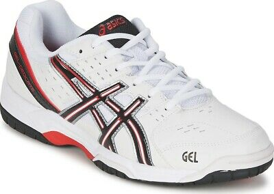 Men's Asics Gel Dedicate 3 White Tennis / Court Shoes Trainers UK  10.5, 11, 13
