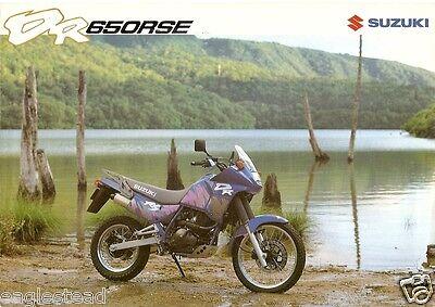 Motorcycle Brochure   Suzuki   Dr650rse   1991  Dc78