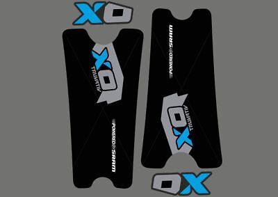 Crank Set Stickers Decals MTB SRAM XX1 Mountain Bike Bicycle Adhesive 2 Pcs Blue