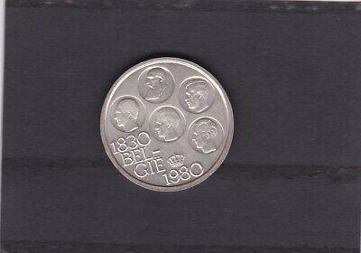 BELGIE/BELGIQUE BOUDEWIJN 500 FRANK 1980  VL 150 JAAR ONAFHANKELIJKHEID