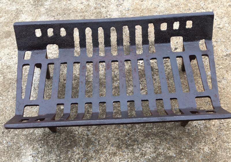 Vintage VESTAL Cast Iron Fireplace Grate Log Holder Made In USA