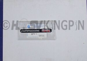 HOLDEN-COMMODORE-VR-VS-SS-DASH-BADGE-NEW-GENUINE