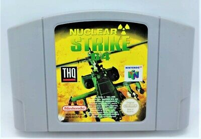 Nuclear Strike Video Game Video Game for Nintendo N64 PAL TESTED