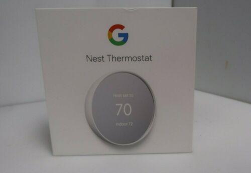 Google Nest Thermostat G4CVZ Smart Thermostat Wifi - Snow