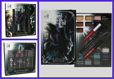 Elf Disney Sleeping Beauty Good Vs  Evil Beauty Book Brushes Eyeliner Collection