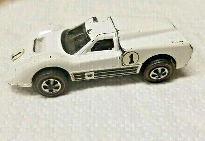 VINTAGE 1967 HOT WHEELS REDLINE FORD J CAR WHITE ENAMEL