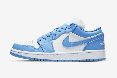 Nike Jordan 1 Low UNC (W) University Blue - UK 4, US 6.5W
