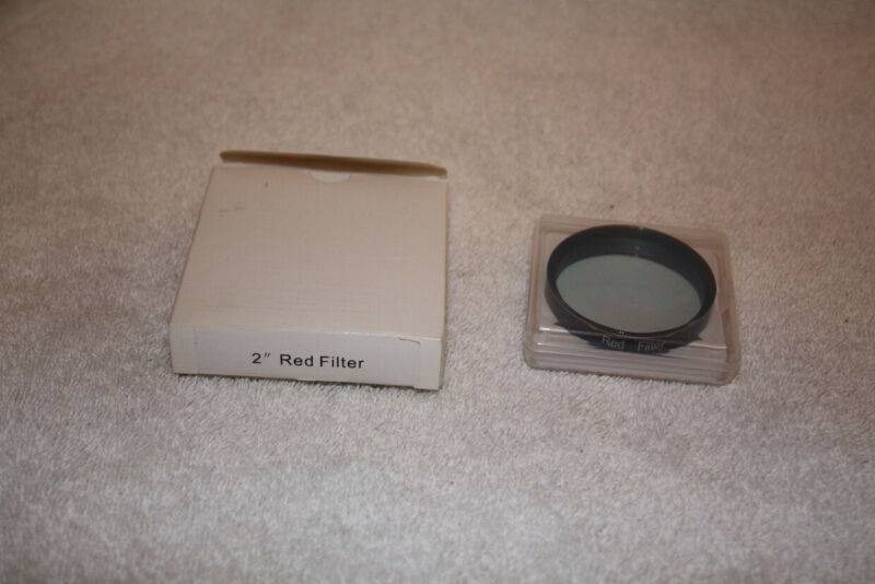 """Unbranded 2"""" Interference CCD Red Filter Telescope"""