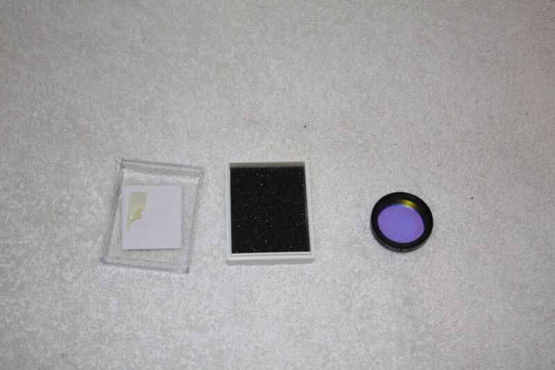 """ZWO B 1.25"""" Telescope CCD Color Interference Filter Blue"""