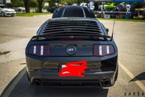 2011 - 2012 mustang tail lights tinted