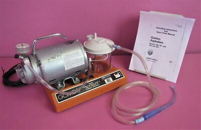 Gomco Surgical Aspirator Vacuum Suction Pump W New Canister Tubing Yankauer