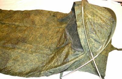 Genuine Russian Army 1 Person Bivvi Tent, Waterproof Bivouac Camo