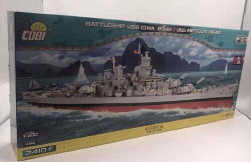 COBI 4812 Schlachtschiff USS Iowa (BB-61)/ Missouri (BB-63) vom Händler