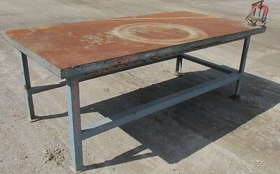Steel Work Bench Welding Table Pipe Vise 4x8x35-12 2482wvs