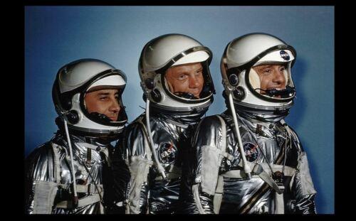 Mercury Astronauts PHOTO Alan Shepard JOHN GLENN Gus Grissom MERCURY SPACE SUITS