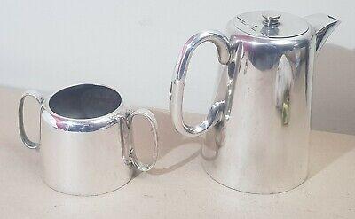 *Vintage* Silver Plated Hard Soldered Coffee Pot & Sugar Bowl- EPNS Sheffield