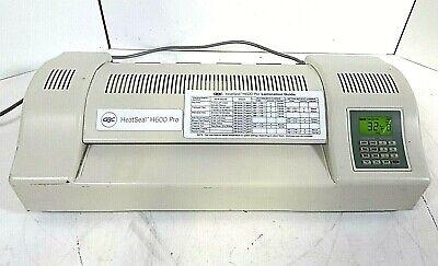 Gbc Heatseal H600 Pro 13 Pouch Laminator - Free Shipping