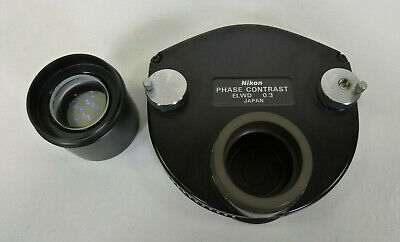 Nikon Phase Contrast Elwd 0.3 Ph1 - 3 Phl - For Diaphot 200 300 Microscope