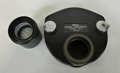 Nikon Phase Contrast Elwd 0.3 Ph1 - 3 Phl - For Diaphot 200 300 Microscope