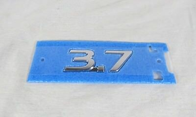 Mustang 3.7L Cyclone Interceptor Style Emblem Polyurethane Resin Emblems 2pc SET
