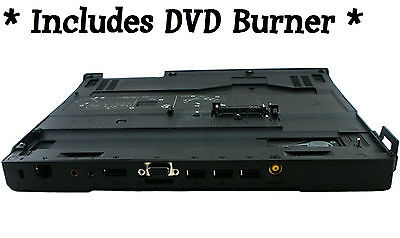 ☛ Lenovo x200 ultrabase + DVD+-RW BURNER for x200/t x201/t docking station dock for sale  Shipping to India