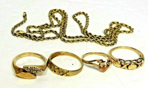 10K gold Jewelry Lot 10 grams all Wearable