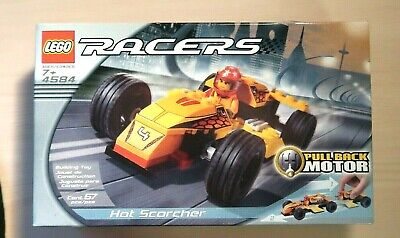 SEALED Lego Racers 4584  Hot Scorcher With Pull Motor