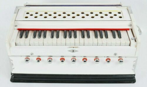 Professional Musical High Quality 9 Stopper Multi Bellow Two Reeds Harmonium